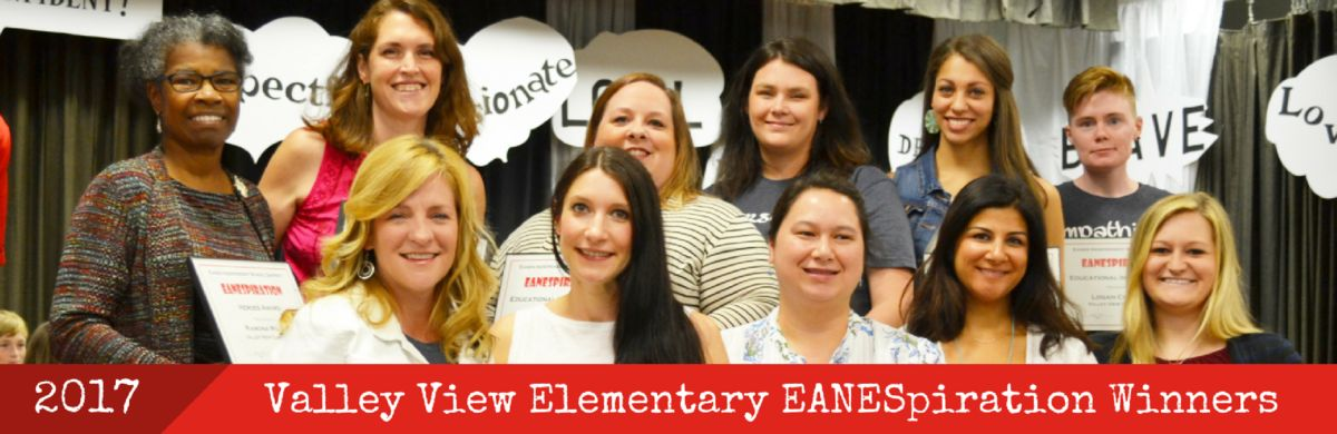 Valley View ES EANESpiration Winners, 2017